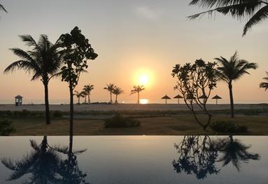 Sunsets near Hoi An Vietnam
