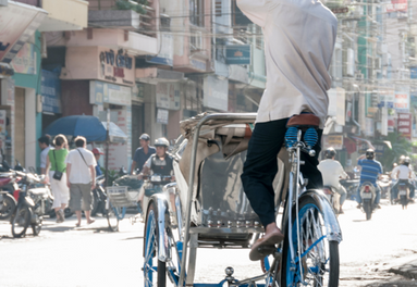 Saigon streetlife during lockdown