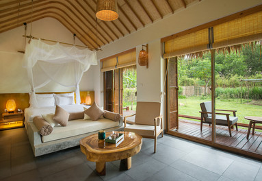 There are many accommodation options at retreats in Vietnam