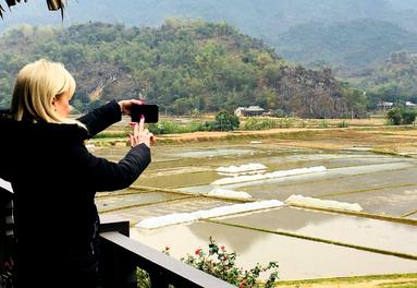 Touring Mai Chau in Vietnam