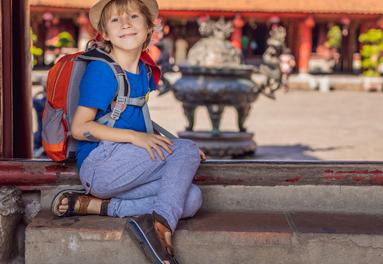 Vietnam is a family friendy destination
