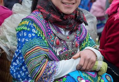 Beautiful people at the Bac Ha Markets