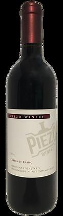 Piezo Winery 2016 Cab Franc