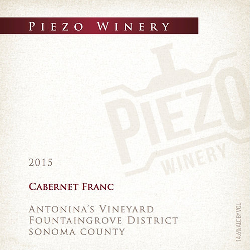 2015 Cabernet Franc - Antonina's Vineyard