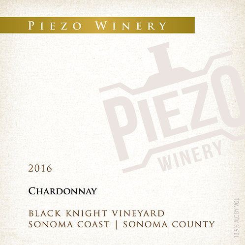 2016 Chardonnay - Black Knight Vineyard