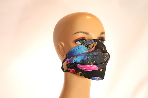 Mask with Adjustable Ear Relief
