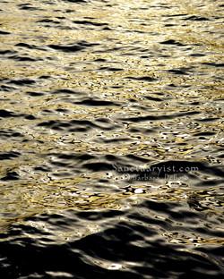 Grey Gold & Black Leopard Seas No 23