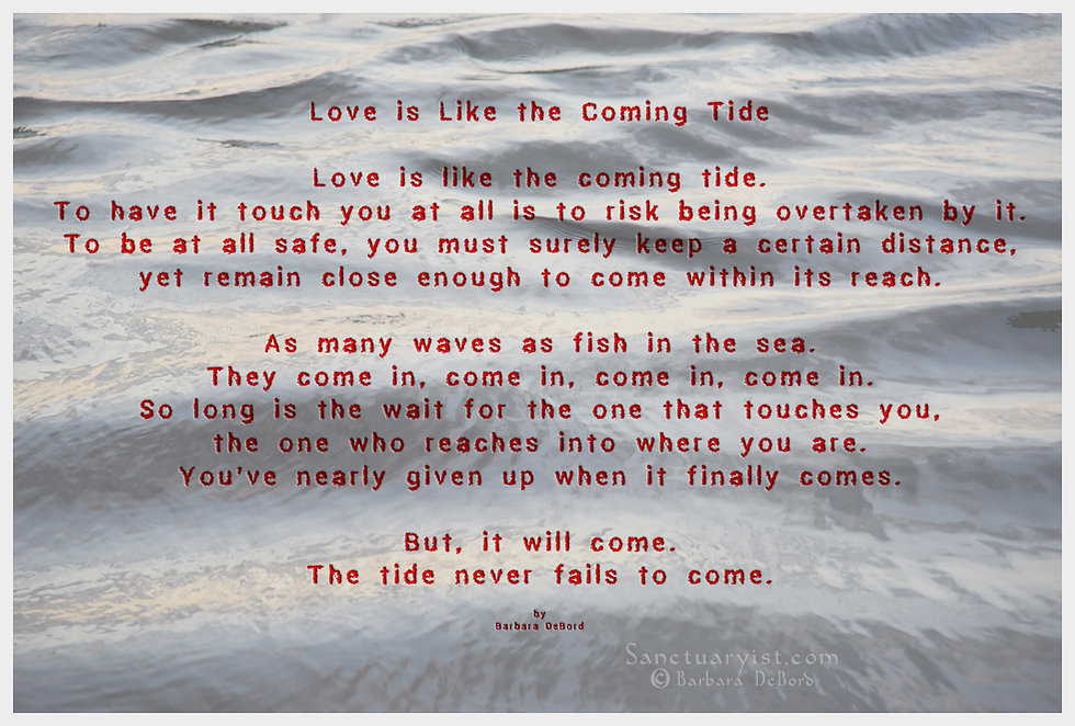 Love is Like the Coming Tide 72cbd text.