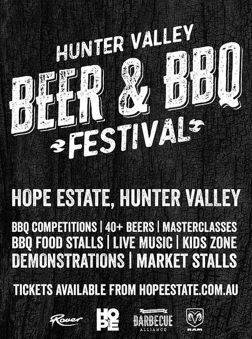 HUNTER VALLEY BEER & BBQ FESTIVAL COMPETITOR REGISTRATION