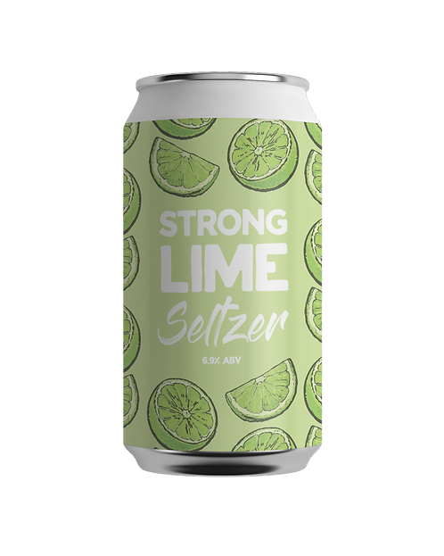 STRONG LIME SELTZER