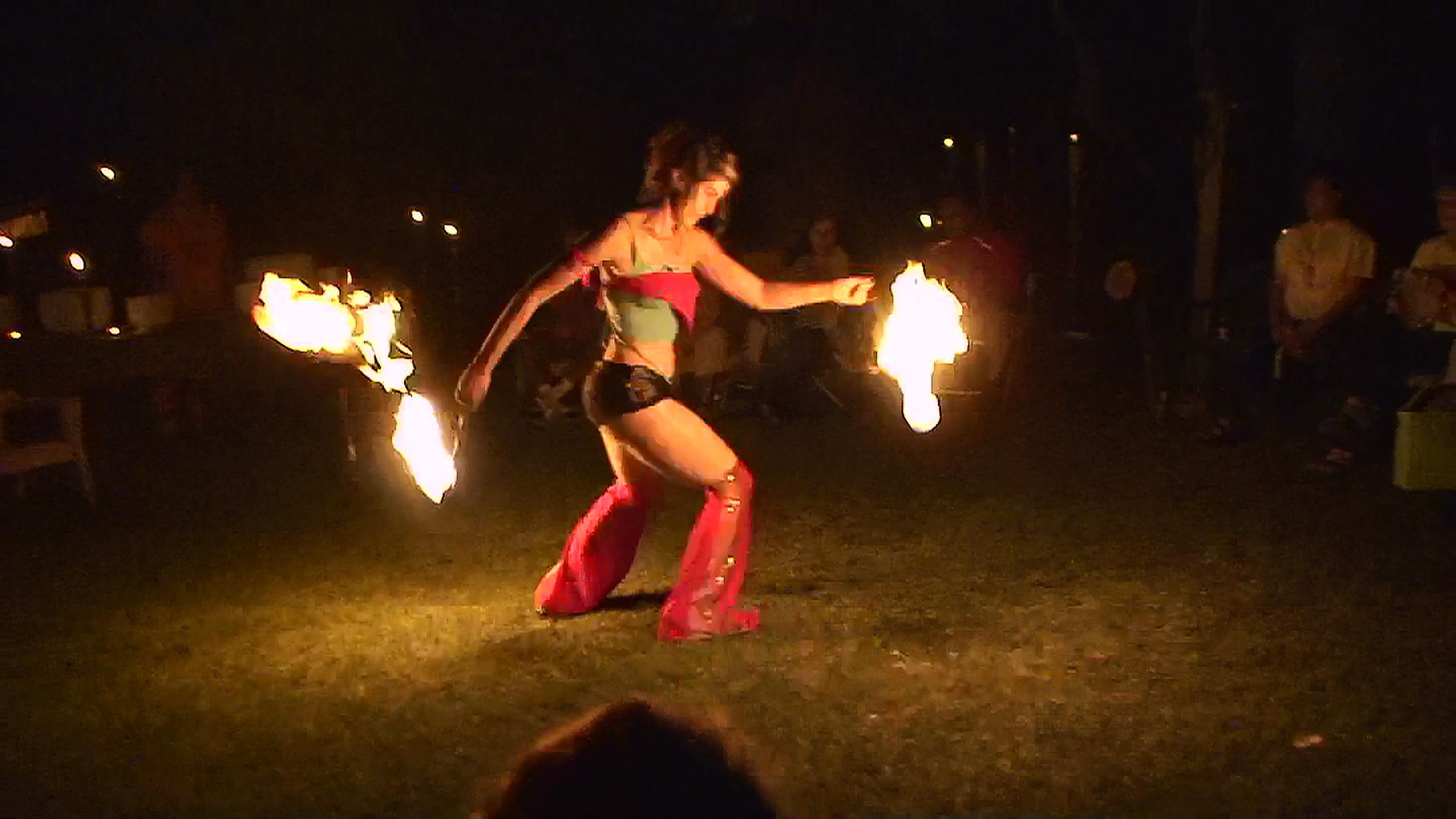 Full Moon - Rider - Fire Dance 10 - July 18 2008.JPG