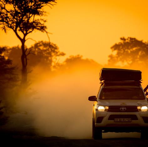 Dusty Drive, Botswana