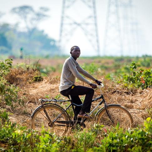 Zambian Bicycle Ride