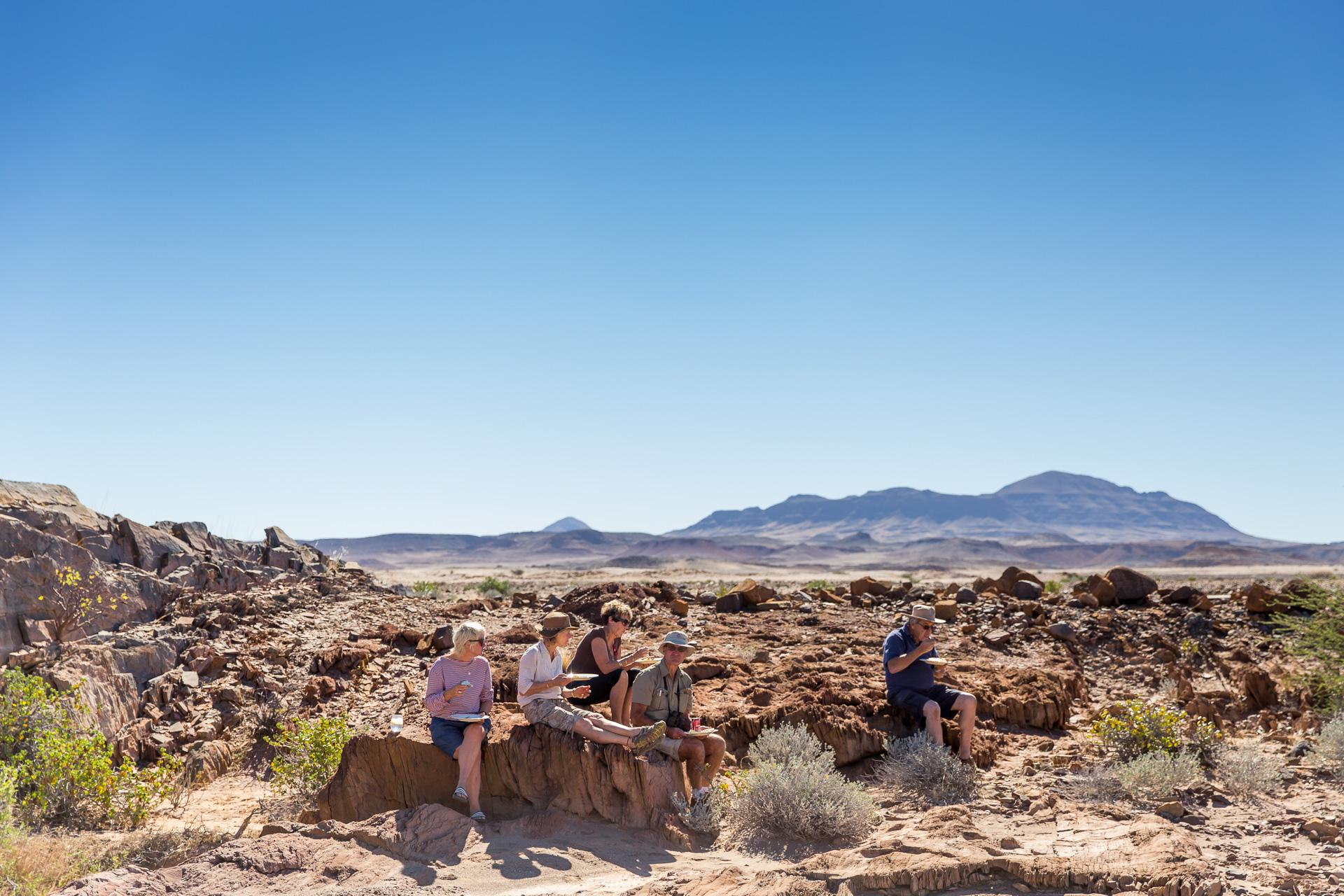 Namibian Lunchbreak