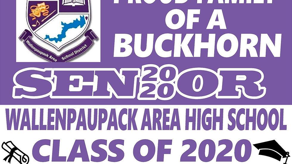 WALLENPAUPACK AREA  Class of 2020