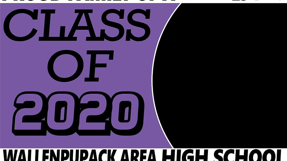WALLENPAUPACK AREA PHOTO OPTION Class of 2020