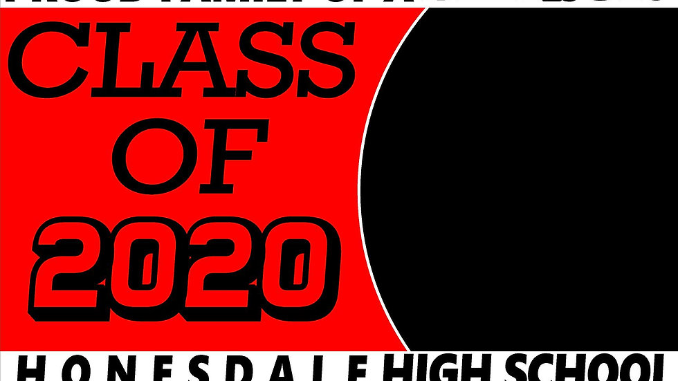 Honesdale  PHOTO OPTION Class of 2020