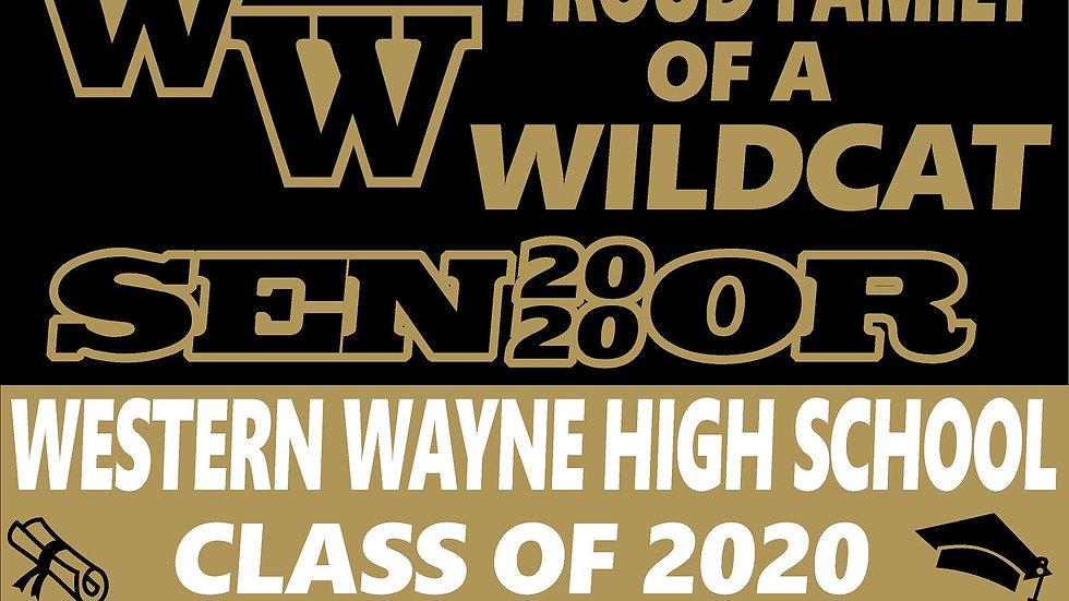 WESTERN WAYNE CLASS OF 2020