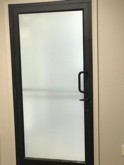 office door window tint