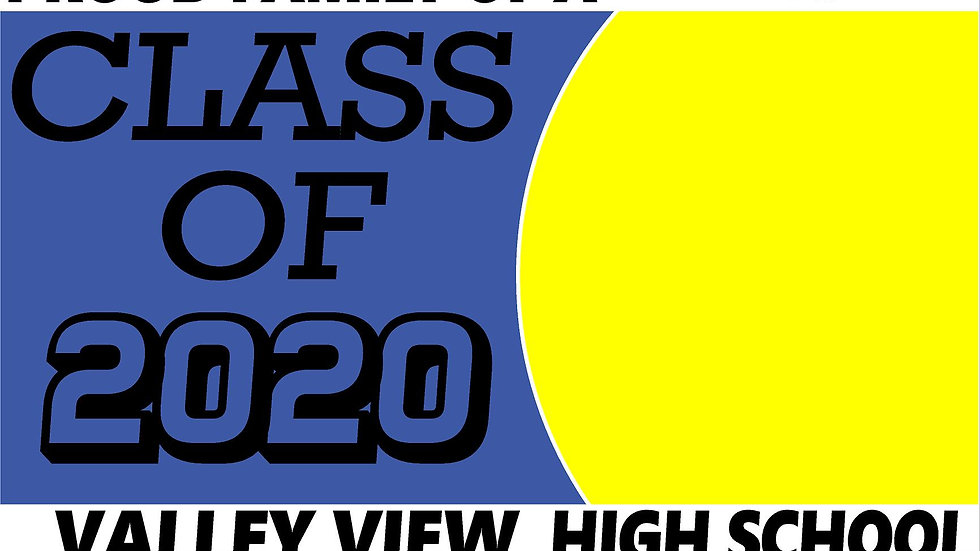 VALLEY VIEW PHOTO OPTION Class of 2020