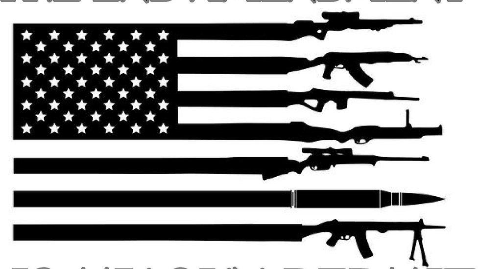 GUN PERMIT DOUBLE SIDED