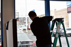 COMMERICAL WINDOW TINTING
