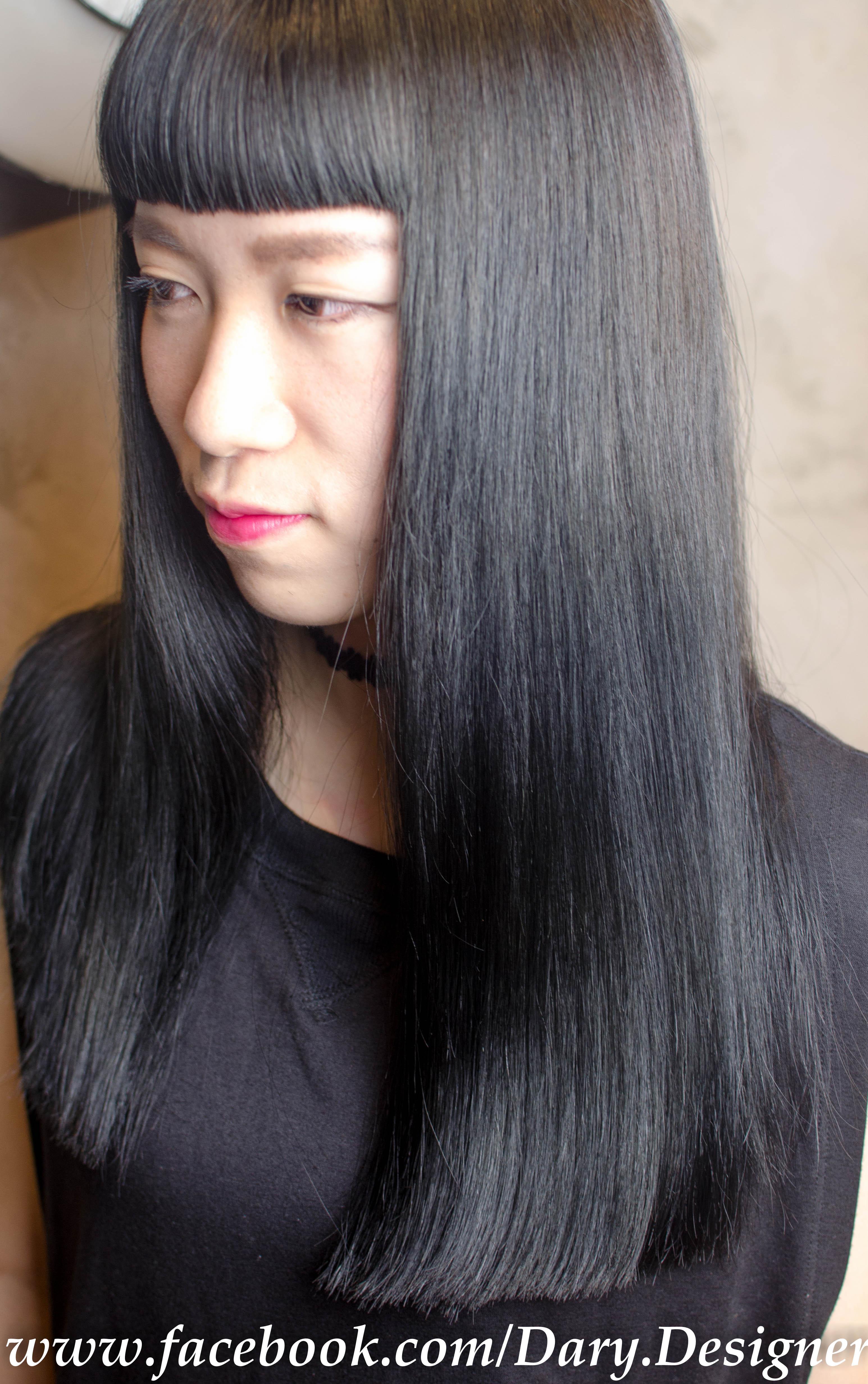 推薦不需要漂髮色,染髮顏色持久度UPUP 注目髮色~質感系鐵灰色~