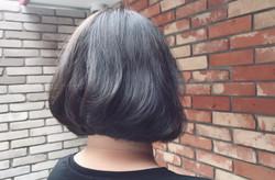 東區染髮免漂髮鐵灰忠孝敦化剪髮大安信義區 搭配OLAPLEX療程結構還原