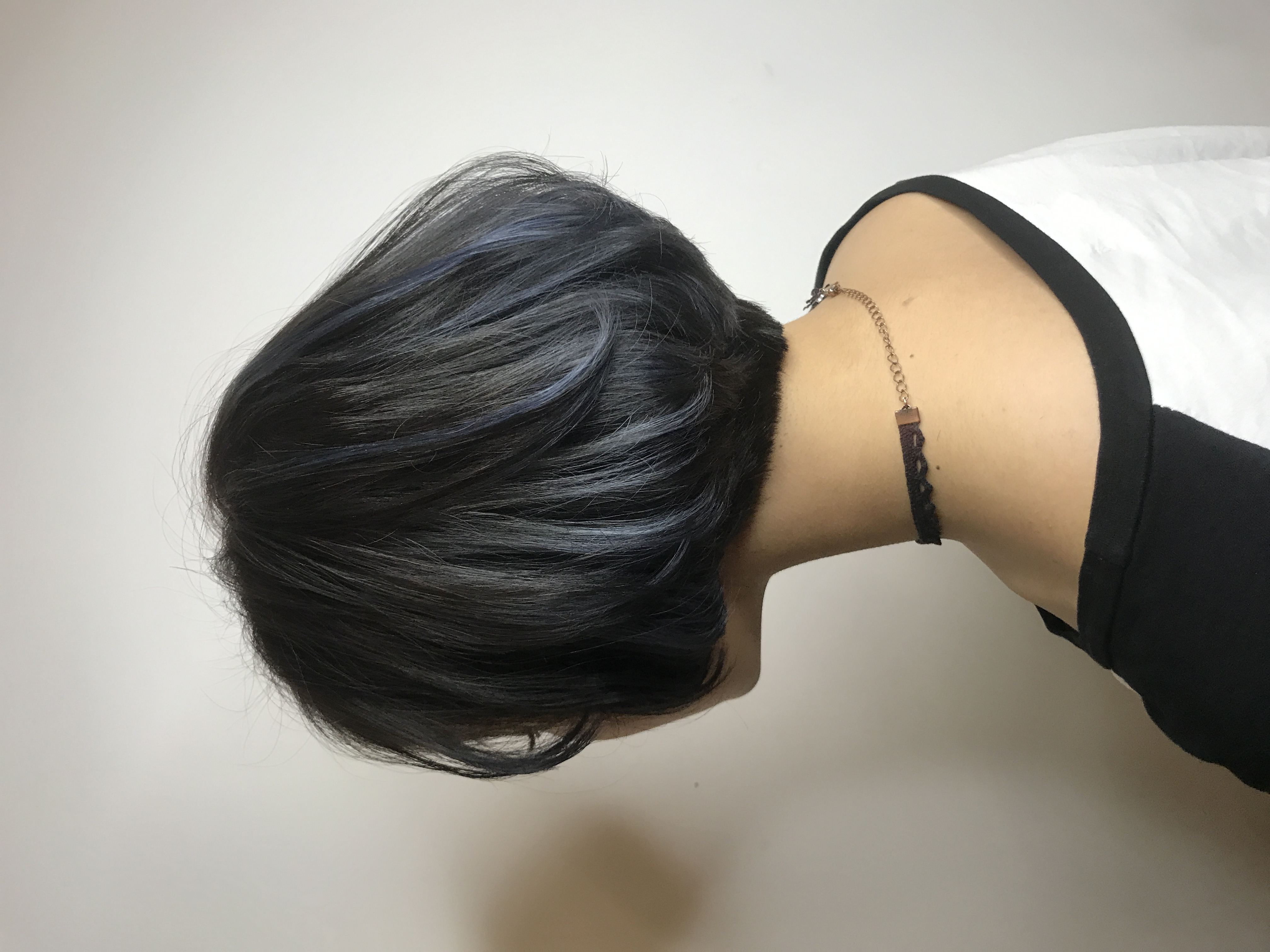 短髮歐美染