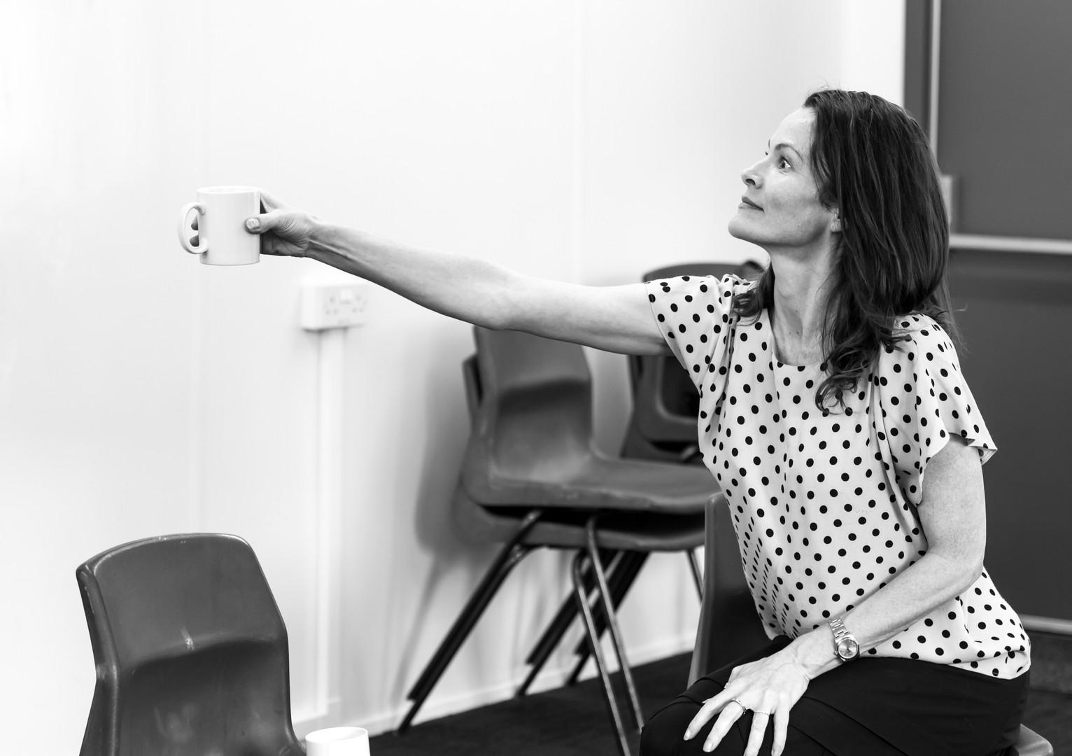 The Wasp (Rehearsal Photos) - Jermyn Street Theatre