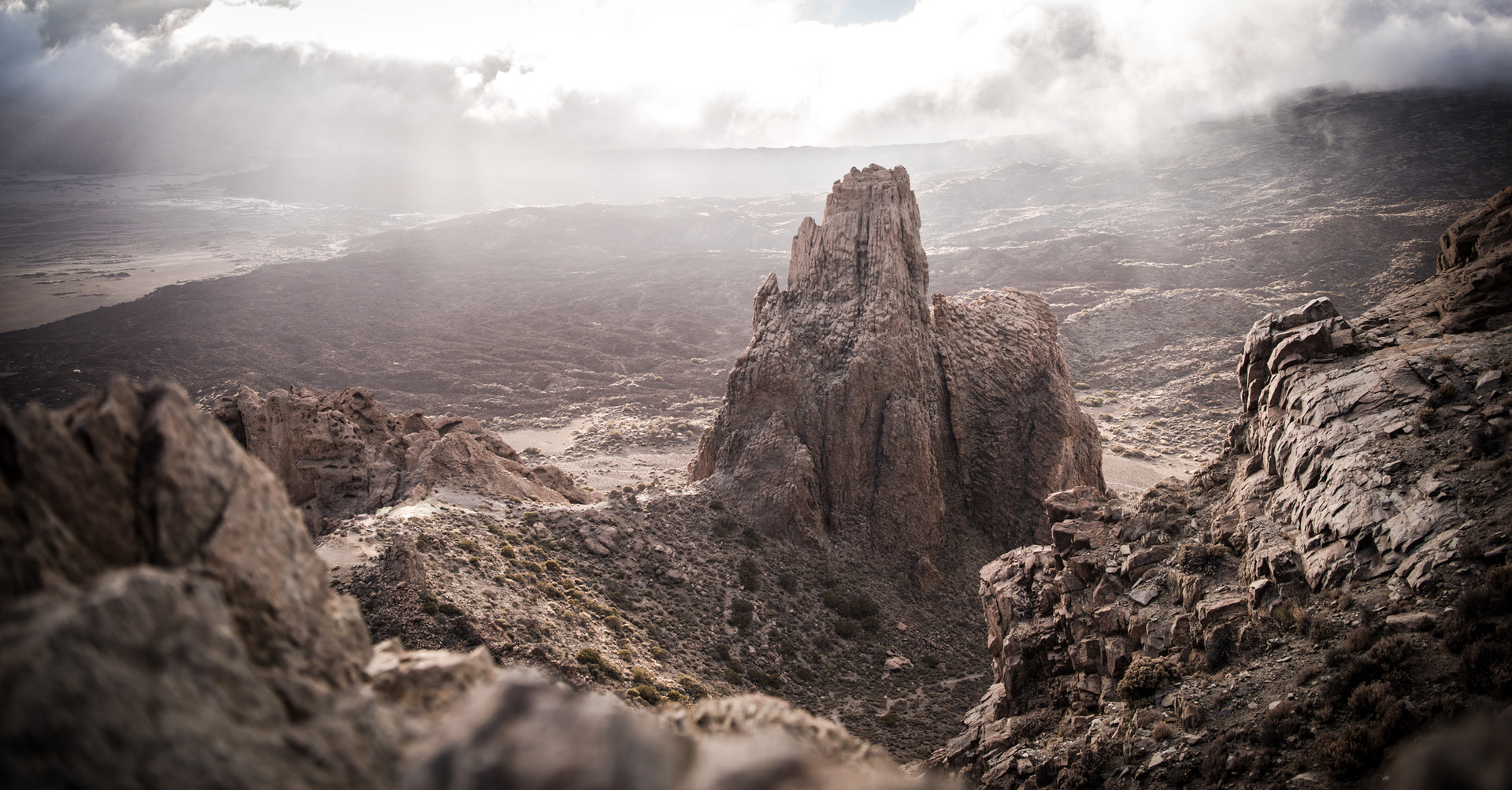 Los Roques de Garcia of Teide.