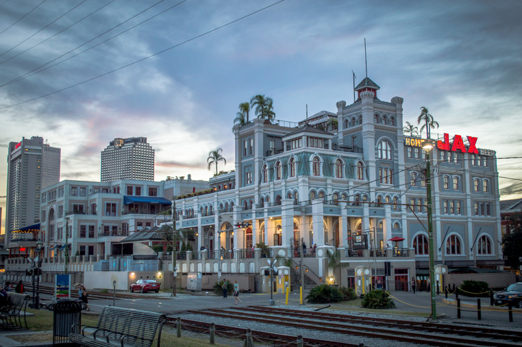 The french colonial architecture of New Orleans.