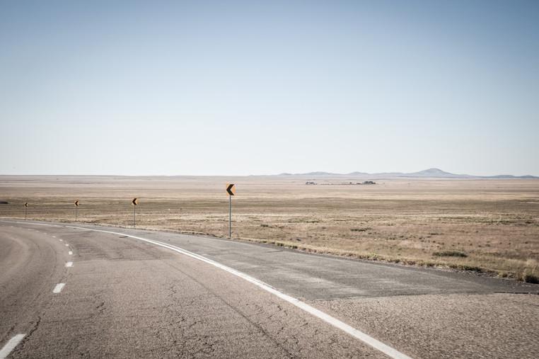 New Mexico roads.