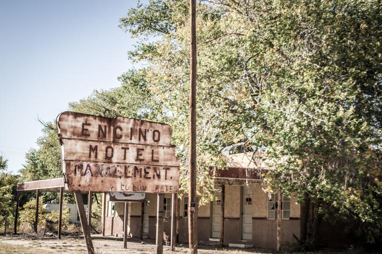Roadside motels in