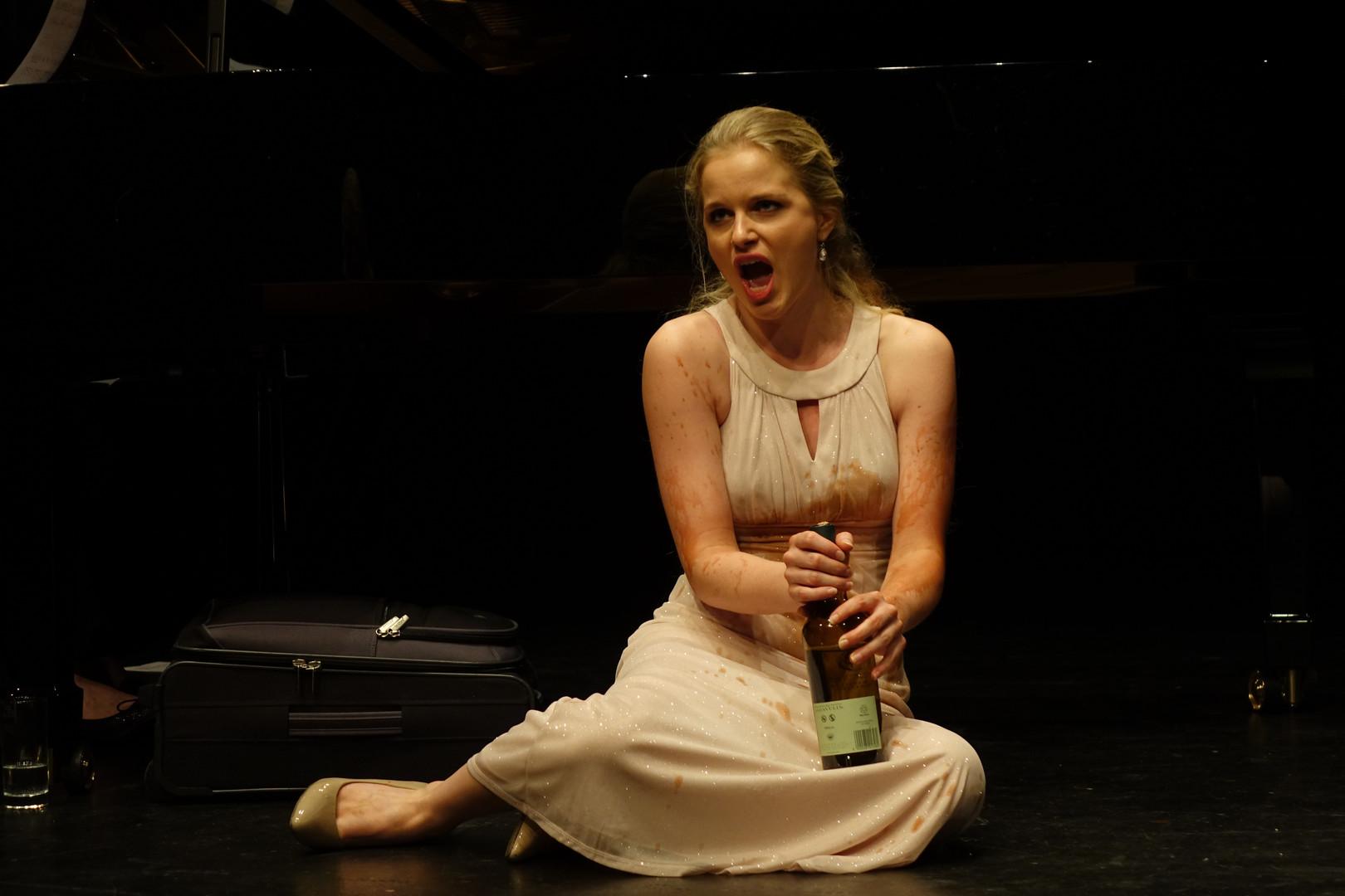 """Rahel Bünter als Kunigunde in """"Candide"""" von Leonard Bernstein"""