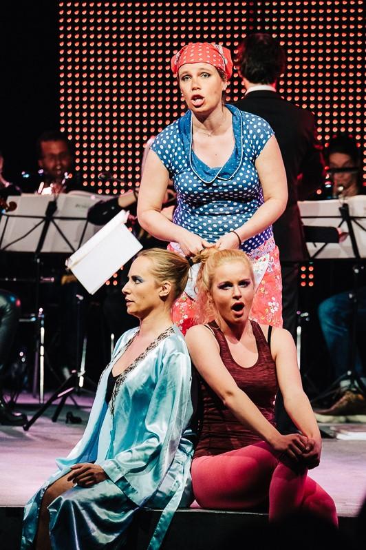 "Rahel Bünter als Clorinde in ""La Cenerentola"" von Gioachino Rossini"