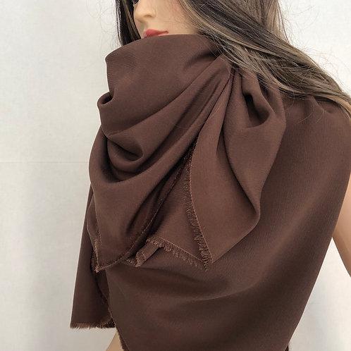 Maxi  foulard  in seta  - pezzo unico