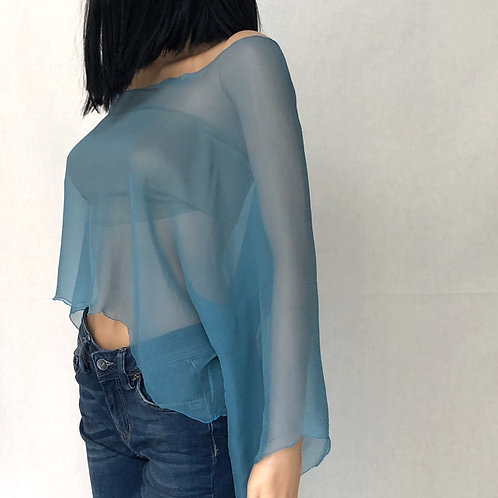Blouse in seta - capo unico