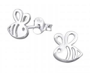 Sterling silver bees earrings.jpg