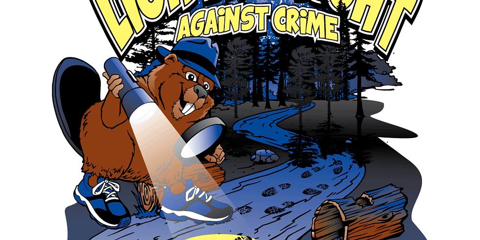 2021 Crime Solvers Light Up the Night Against Crime 5k Run