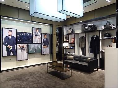 BOSS   Gentlemen's Modern Lounge   Installation