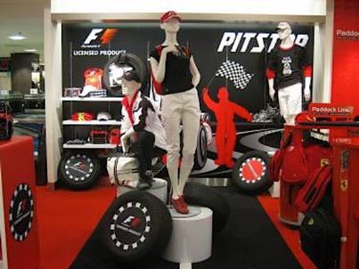 Robinsons   Singapore Formula One 2008 launch   Installation