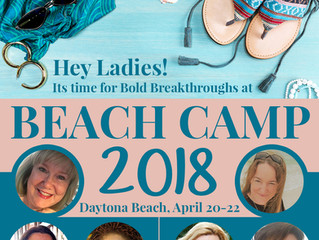 Beach Camp? (Chicks only, sorry, guys!)