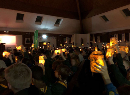 Cubs Christmas Candlelight Choir