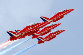 Red Arrows' North American Display List Revealed