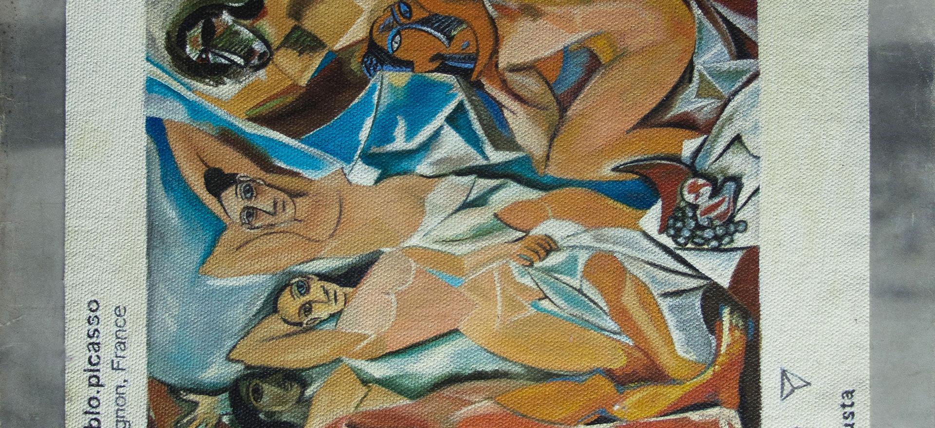 Pablo Picasso, Avignon France, 2019