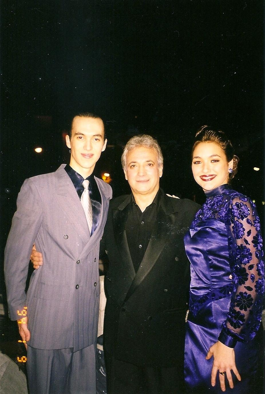 Avec Guillermo Galvé