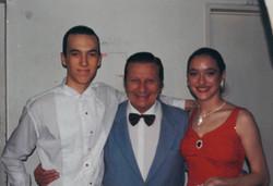 Avec Carlos Lazzari