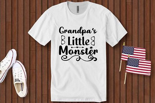Grandpa's little monster