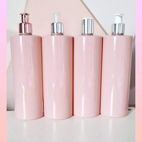 Pump bottles 4 colours